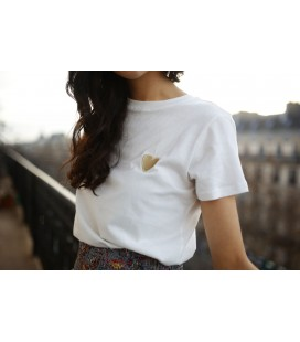 T-shirt COEUR-B/DOREE