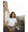 T-shirt XOXO - B/NOIR