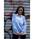 Sweat AMOUR IS FRENCH - BLUE/BLANC