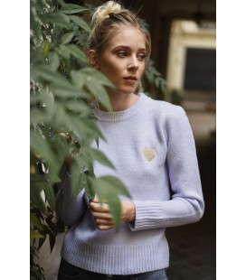 Pull Epaulette Maddy - LILAS/OR